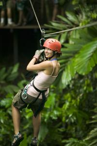 Cancun Combo Tour: ATV and Zipline with Cenote Swim