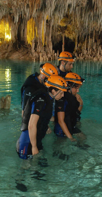 Picture of Rio Secreto Underground River Tour with Crystal Caves and Optional Tulum Ruins