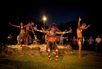 Aboriginal Cultural Tjapukai Night Tour including Buffet Dinner