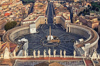 St. Peter's Square, Vatican Museums, and Sistine Chapel Family-Friendly Tour from Civitavecchia