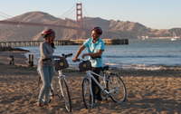 Excursion en vélo sur le pont du Golden Gate à San Francisco - San Francisco -