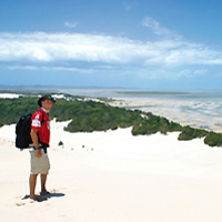2-Day Moreton Island 4WD Camping Tour from Brisbane or the Gold Coast