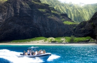 Na Pali Coast Zodiac Raft and Snorkel Adventure