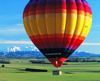 Christchurch Hot Air Ballooning over Canterbury Plains