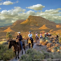 Western Ranch Experience mit Grand Canyon-Helikopterflug