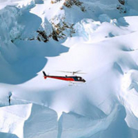 Twin Glacier Helicopter Flight departing Franz Josef