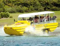 Rotorua Duck Tours - City and Lakes Tour, Rotorua Water Activities