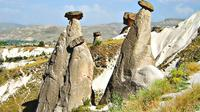 Wonders of Cappadocia: Kaymakli Underground City and Red Valley Hiking Tour
