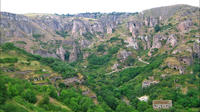 Day Trip from Yerevan: Areni Winery, Tatev Monastery and Ropeway, Khndzoresk Caves and Bridge