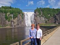 Trip to Montmorency Falls and Sainte Anne de Beaupre