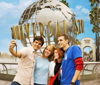 Universal Studios Hollywood and Night Tour of Los Angeles from Anaheim