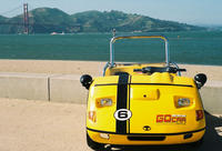 San Francisco Combo: Alcatraz and GPS-Guided GoCar Tour Picture