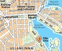 Map of Helsinki Sightseeing Tour With a Live Guide
