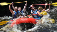 Whitewater Rafting Dam Release in the Poconos