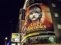 Spectacle Les Misérables - Londres -