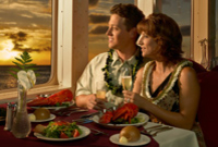 Oahu Sunset Dinner Cruise - Fine Dining
