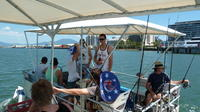 Trinity Inlet Self-Drive Pontoon Boat Hire in Cairns, Cairns Boat Charters