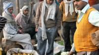 Tour to the vibrant vegetable market in Agra