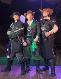 Three Musketeers: Voyage Home Dinner Show
