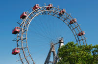 Vienna by Night: Evening City Tour Including Wiener Riesenrad Ferris Wheel
