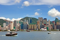Hong Kong Harbour and Noon Day Gun Firing Cruise