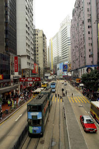 Hong Kong Shore Excursion: Central District Tour
