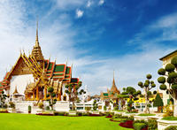 Bangkok Shore Excursion: Private Grand Palace and Buddhist Temples Tour Private Car Transfers