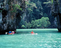 Canoe Cave Explorer Phang Nga Bay Tour from Phuket