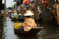 Logo/Picture:Floating Markets and Bridge on River Kwai Tour from Bangkok