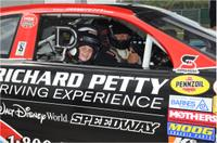 Junior Race Car Ride-Along Program at Walt Disney World® Speedway in Orlando Picture