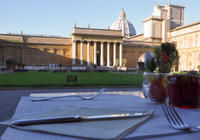 Vatican VIP Experience: Exclusive Breakfast at the Vatican with Early Acces