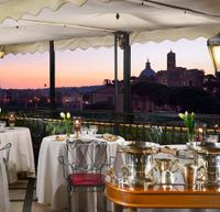 Viator VIP: Exclusive Rome Rooftop Dinner and Colosseum Night Tour Including Underground Chambers