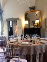 Wine Tasting and Dinner at a Private Tuscan Villa from Florence