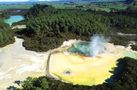 Crater Lake Views Helicopter Flight from Rotorua