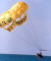 Single Parasailing in Key West