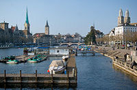 Best of Zurich City Tour with Optional Zoo Visit