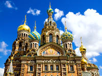 Russian Art Walking Tour of St Petersburg: Church of the Saviour on Spilled Blood and the Russian Mu