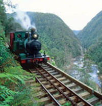 Tasmania West Coast Wilderness Railway Tour