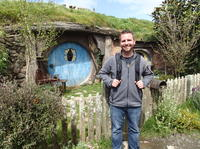 Waitomo Caves and 'The Lord of the Rings' Hobbiton Movie Set Day Trip from Auckland, Auckland CBD Tours and Sightseeing