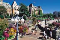 Vancouver to Victoria and Butchart Gardens Tour by Bus