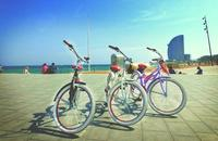 Bike Rental with Luggage Point in Barcelona
