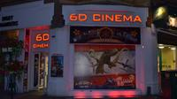 6D Cinema Ticket to Virtual Entertainment Shortride Movie