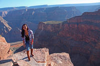 Grand Canyon West Rim Tour with Hoover Dam Stop and Optional Skywalk