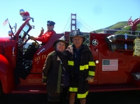 Excursion à San Francisco En voiture de pompiers - San Francisco -