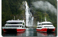 Milford Sound Sightseeing Cruise including Optional Lunch, Milford Sound Tours and Sightseeing