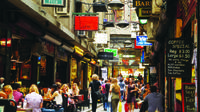 Half-Day Melbourne City Laneways and Arcades Tour with Queen Victoria Market From Melbourne image 1