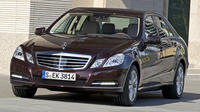 Stockholm City Departure Private Transfer to Stockholm Port in Business Car