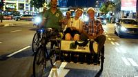Private Tour: Singapore Unique Night Tour Including Trishaw Ride and Bumboat Ride