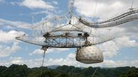 Rio Camuy Cave Park and Arecibo Observatory from San Juan