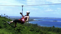 Zipline Canopy Tour in the Vanuatu Jungle from Port Vila